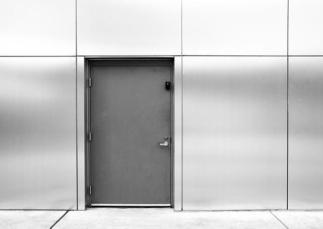 Drzwi zmetalu